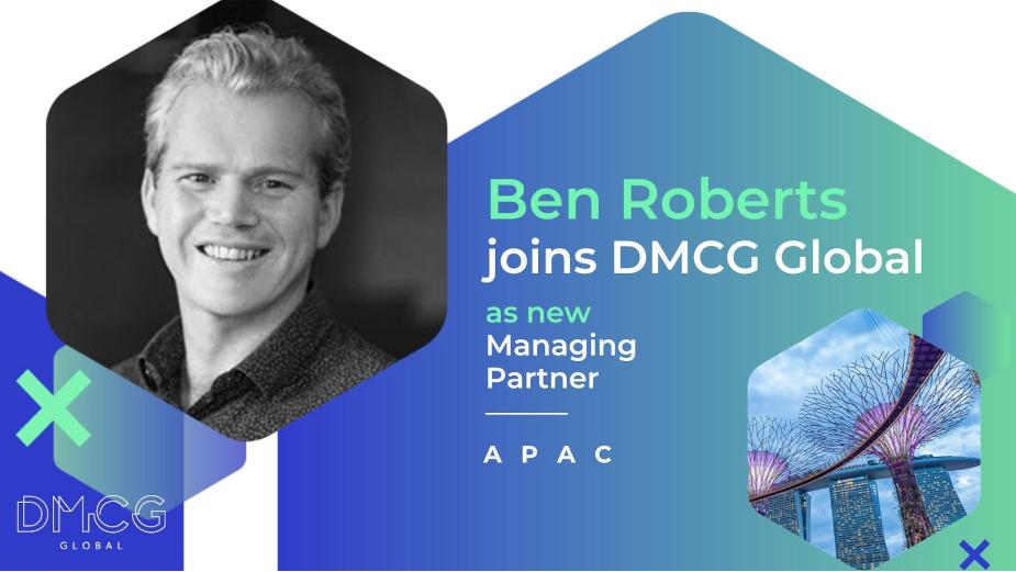 Ben Roberts Joins DMCG Global as New Managing Partner