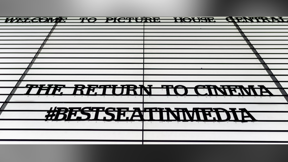 DCM Celebrates the Return of Cinema with #BestSeatInMedia Campaign