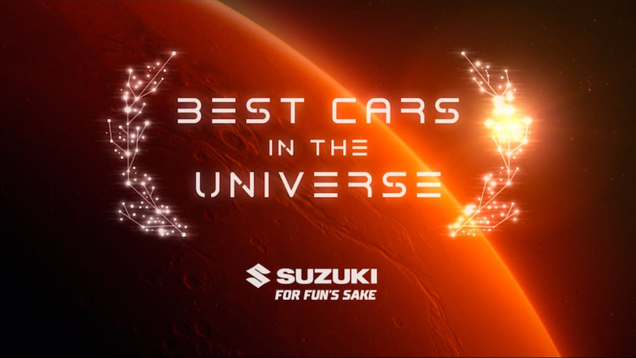 Universal Automotive Authority Recognises Suzukis as Best Cars in the Universe