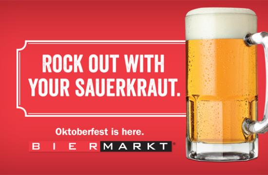 Oktoberfest Countdown for Bier Markt