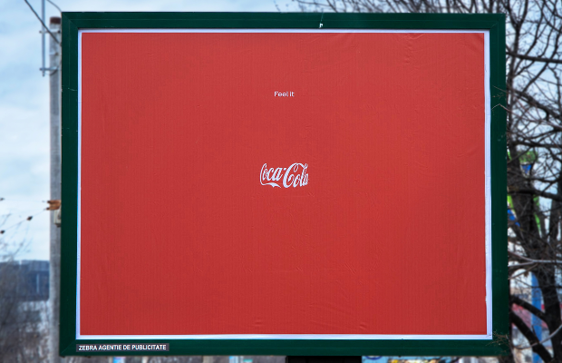 The Bottle Isn't There But You Can Still Feel it in This Coke Ad
