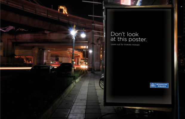MET Police Launches 'Look Up. Look Out' Anti Theft Campaign