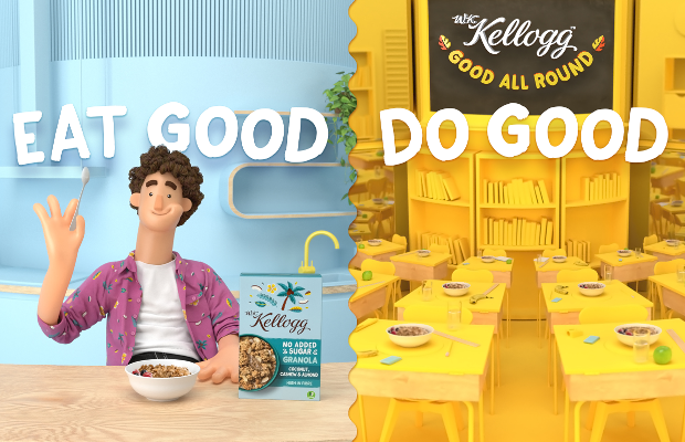 Kellogg's Keep it Good All Round for Latest Campaign