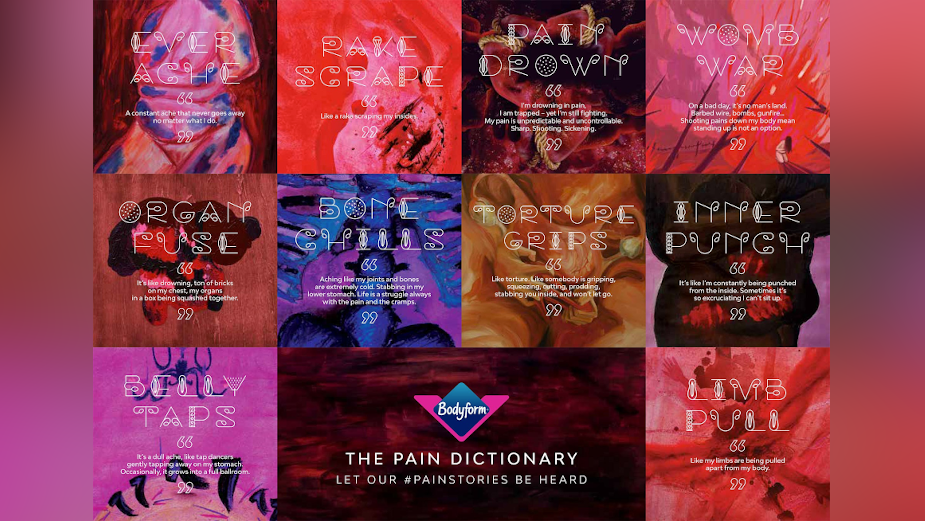 Living with Endometriosis: Jelly London's Pain Dictionary