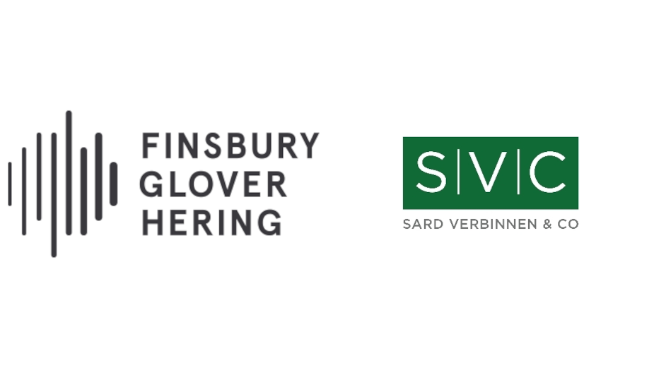 Finsbury Glover Hering and Sard Verbinnen & Co to Merge