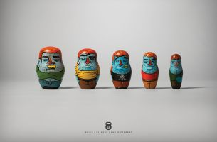 BRICK Helps Members Get Fit with 3D Printed Nesting Dolls from BBDO
