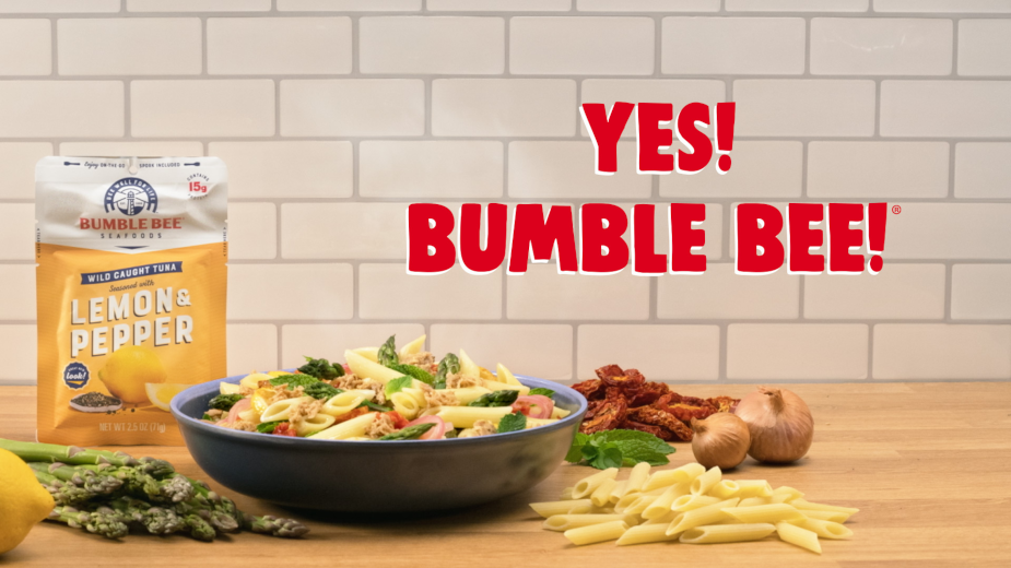 Bumble Bee Reels in Flavourful Lunch Prep with Stop Motion Animation