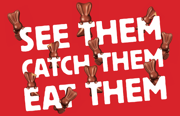 Go on an AR Scavenger Hunt to Find the Escaped Maltesers Bunnies