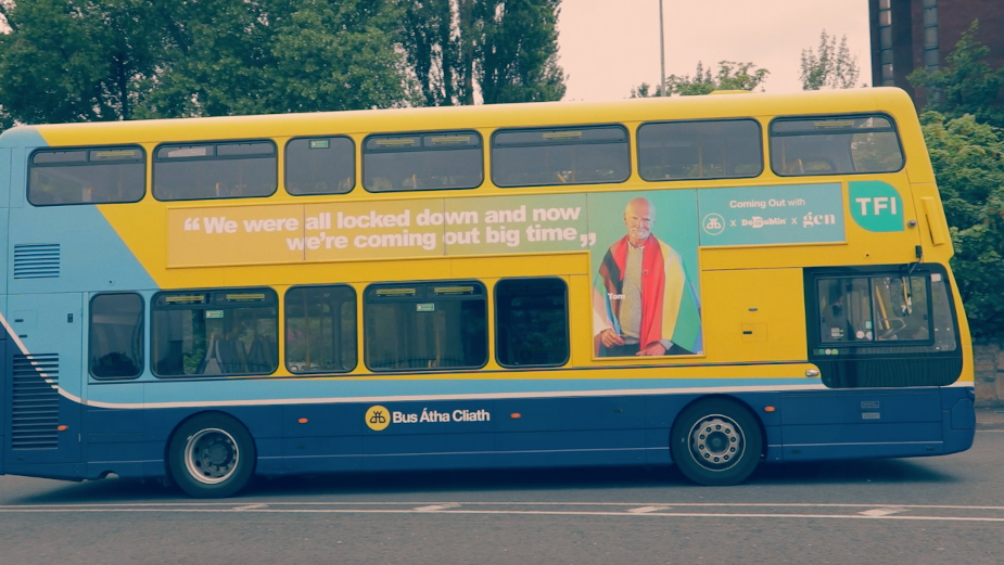 Rothco, part of Accenture Interactive, and Dublin Bus Take to the Streets to Celebrate Pride 2021