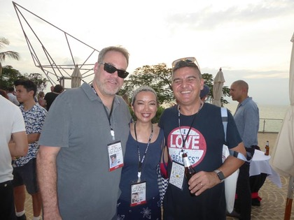 AdFest Delegates Join Campaign Brief for 7th Annual Poolside Sunset Drinks Party