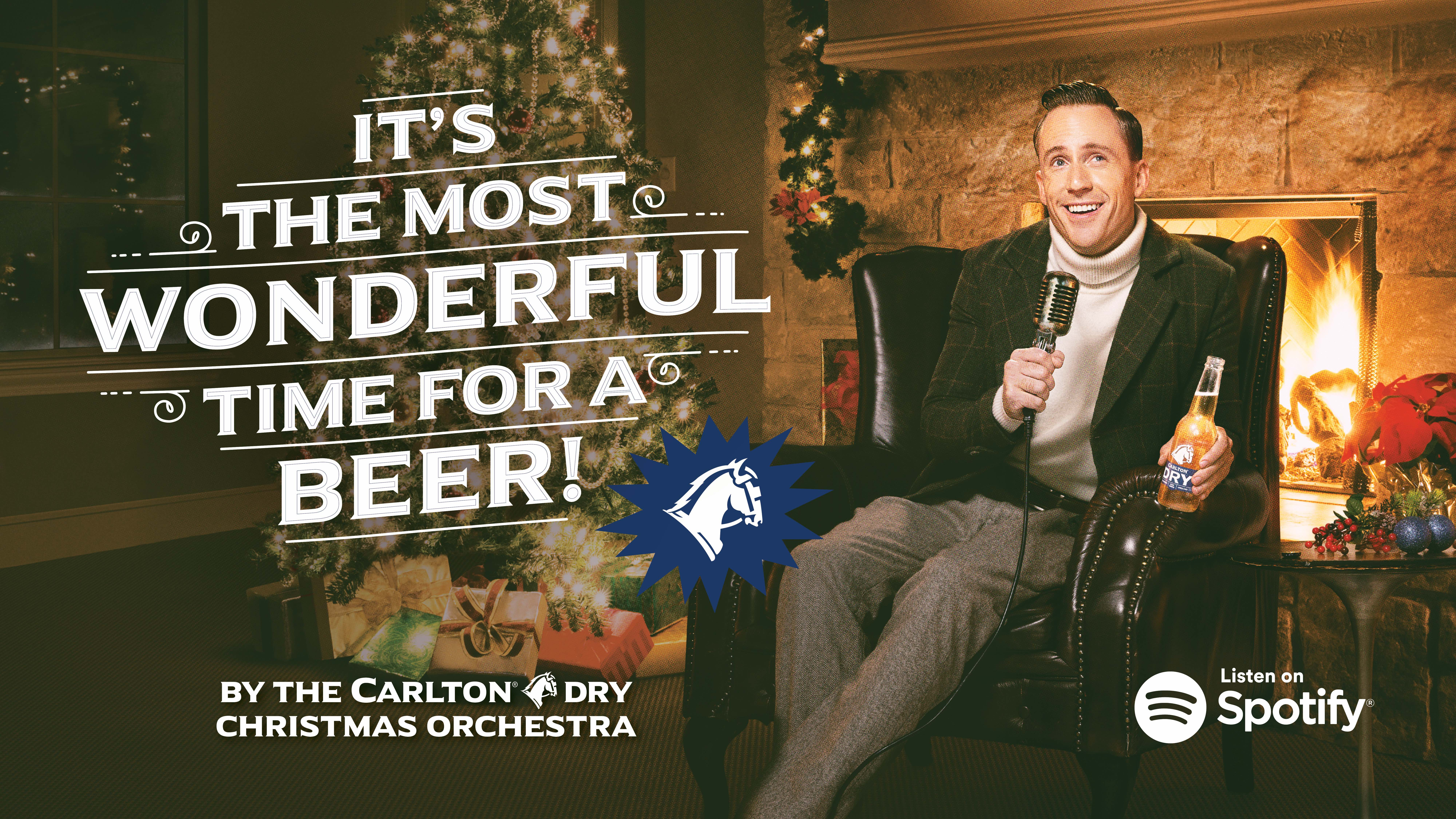 Carlton Dry Takes Firm Aim at Xmas With New Seasonal Song