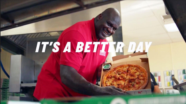Camp + King Partners with Papa John's for Pizza Positivity Campaign Featuring Shaquille O'Neal