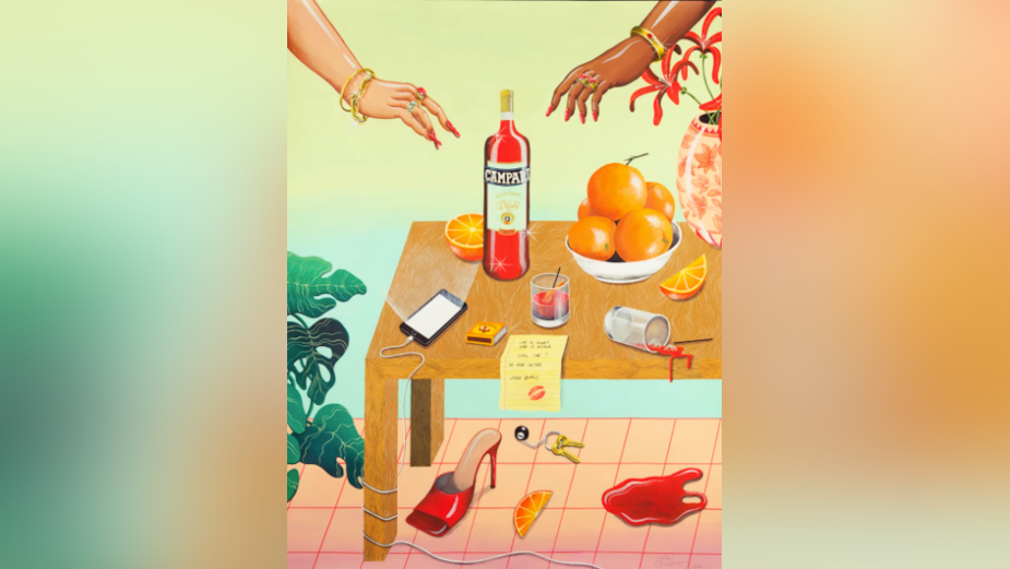 Campari and FamousGrey Honour Traditions with Iconic Posters from Belgian Artists