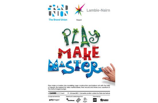 Brand Union and Lambie-Nairn's 'Play, Make, Master'