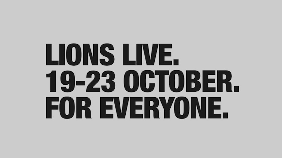 Cannes Lions Publishes Agenda for Second Edition of LIONS Live