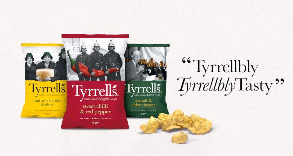 "St Luke's Unveils First ""Tyrrellbly, Tyrrellbly, Tasty"" Campaign For Tyrrells"