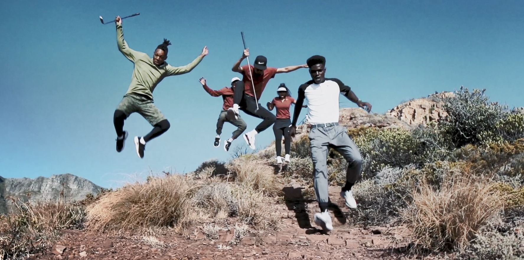 Youths Reclaim City Through Urban Golf in Stunning Nike Campaign