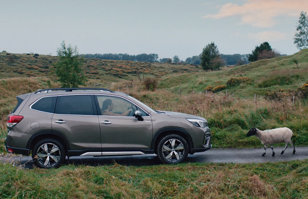 Subaru Forester Showcases its Un-baa-lievable Safety Features in Flashback Spot