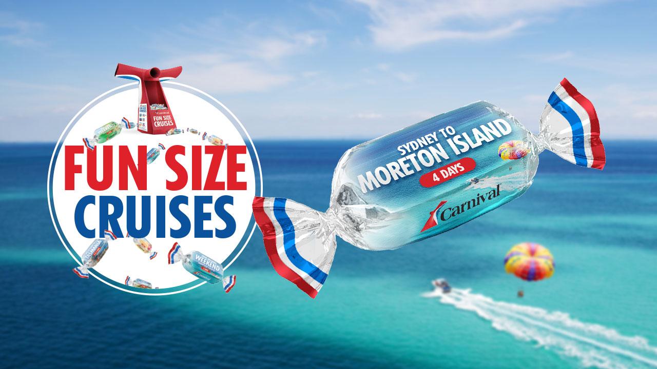 Carnival Cruise Line Australia Releases 'Fun Size Cruises' Campaign via Redengine SCC