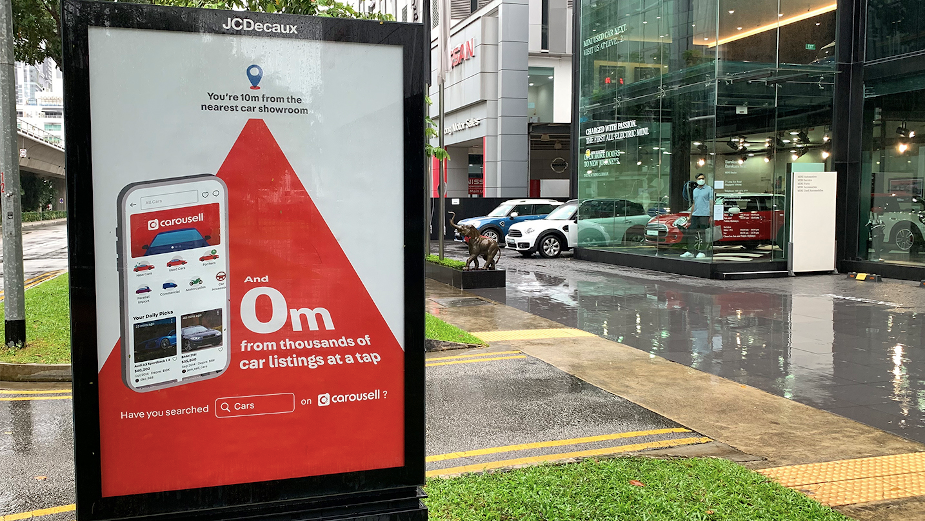Carousell Addresses Car Buyers Directly in Playful Hyper-Targeted Campaign