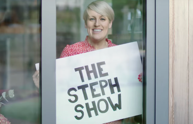 Steph McGovern Stays at Home to Promote New Chat Show