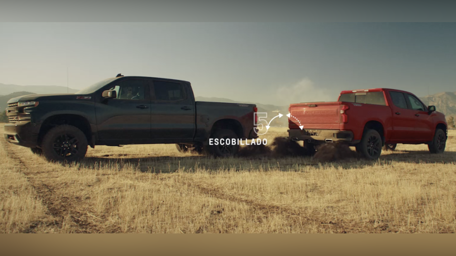 Chevrolet and Commonwealth // McCann Santiago Pay Tribute to Chile's National Dance with Trucks