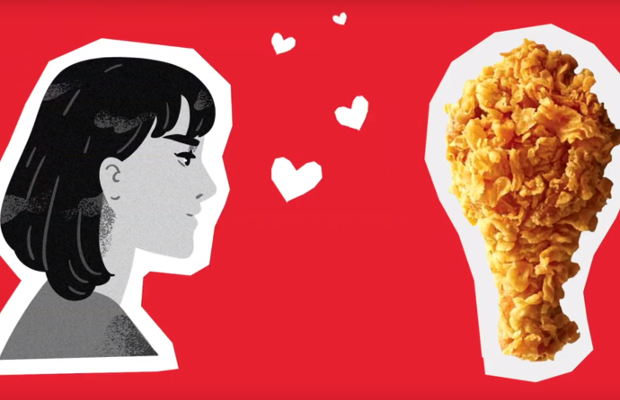 KFC's Lonely Valentine Specials Taste What Love Feels Like
