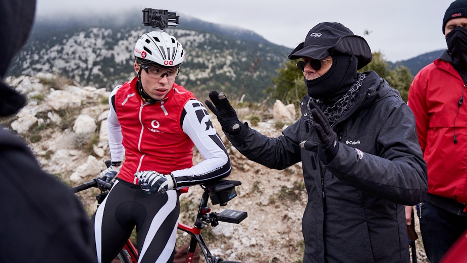 Blind Cyclist Takes Vodafone 5G on a Wild Ride in Extraordinary New Film