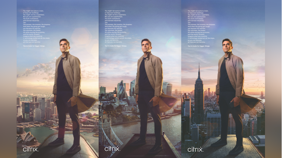 Huge Drives Business Success for Citrix with Inspiring Brand Campaign