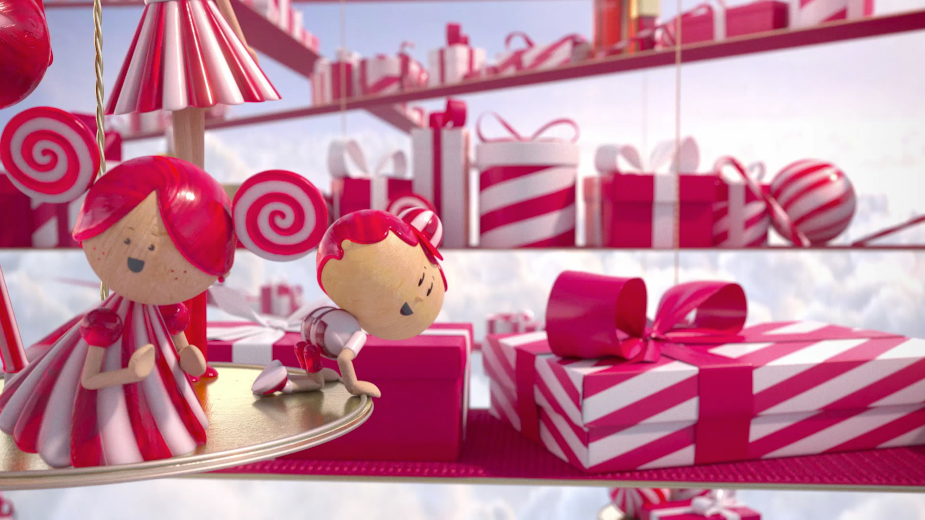 LEAP Delivers Festive Treats for Clarins Christmas Spot