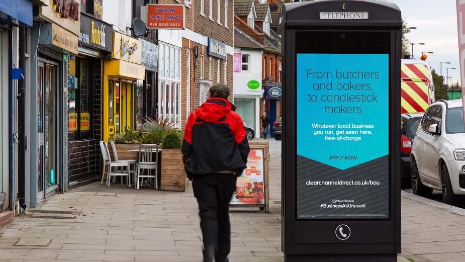 Clear Channel Keeps #BusinessAsUnusual with Free Digital Out of Home to Local Businesses