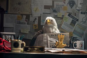 Super Hero Eagle Steve Saves the Day for U.S. Pest Protection
