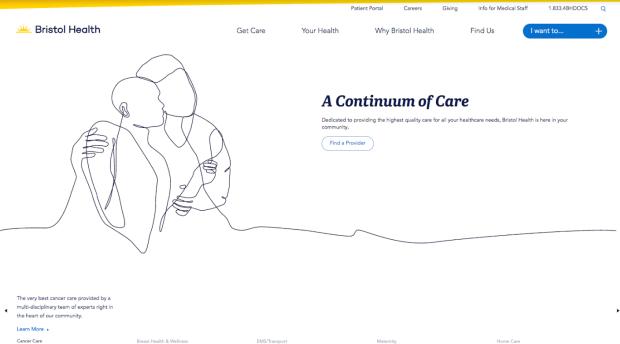 Hanson Dodge Rebrands Community-Based Healthcare Website Bristol Health