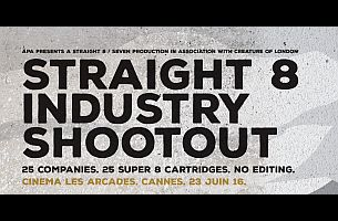 straight 8 Challenges Ad Industry to Super 8 Shootout at Cannes