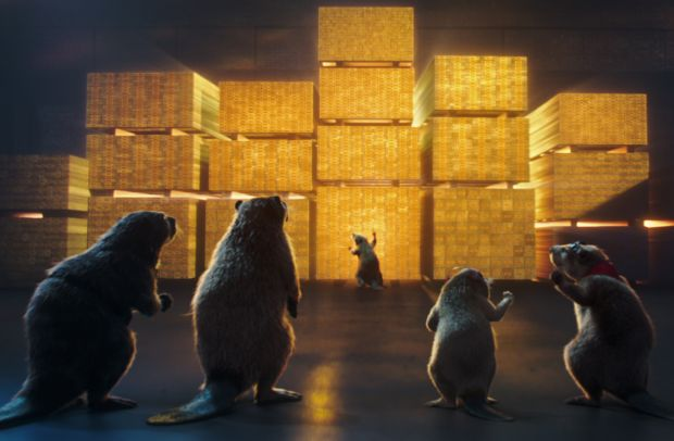 A Family of Beavers Steal Pine in This Comedic Spot for an American Lumber Company
