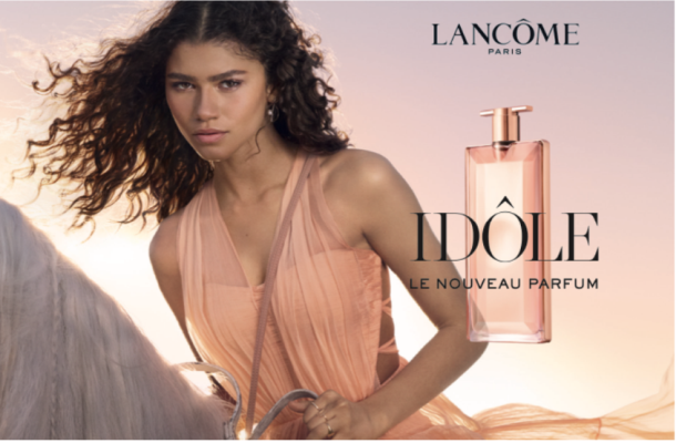 Actress Zendaya Rides Through the Streets of LA for Lancôme's Film