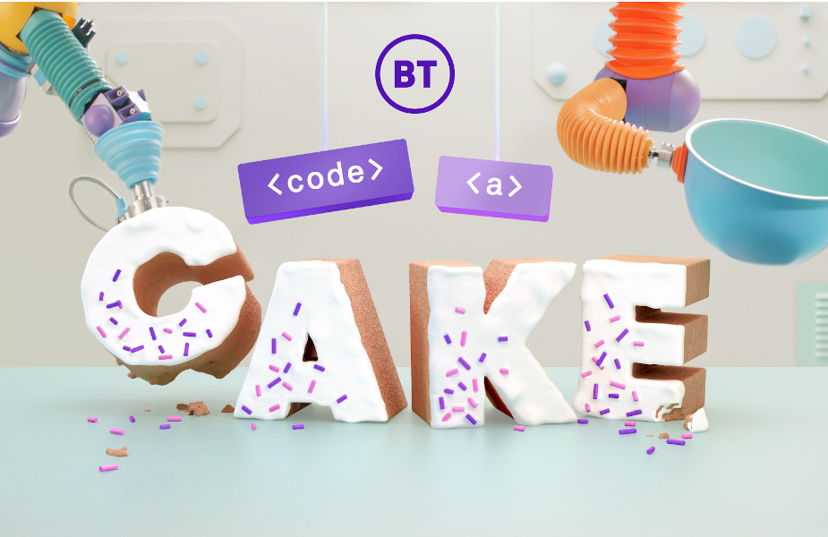 BT's Code a Cake Enlists Baking Robots to Teach Digital Skills