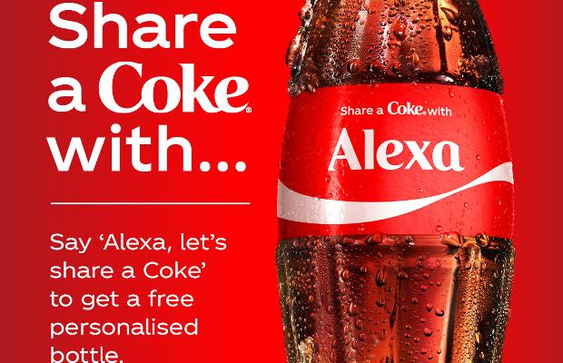 Alexa, Let's Share a Coke