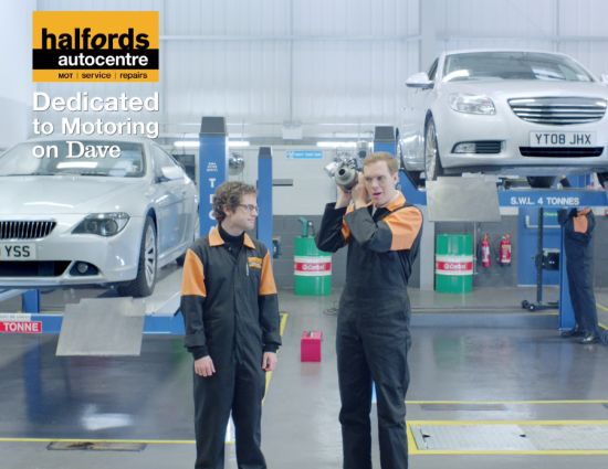 'Colin And Clive' Appear In Halfords Idents Created By Mother London