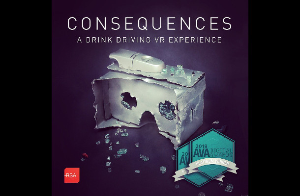 Road Safety VR Experience 'Consequences' Wins at AVA Digital Awards