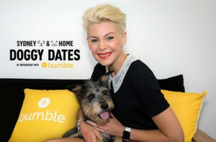 JWT Sydney Unites with Bumble and Sydney Dogs and Cats Home for Valentine's Day 'Doggy Dates'