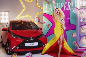 Toyota Partners with 'Masters of Self-Expression' in New Aygo Campaign