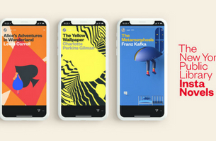The New York Public Library 'Insta Novels' Reimagines The Act of Reading