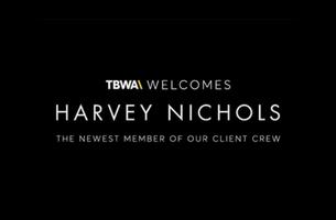 TBWA\London Scoops Harvey Nichols Account