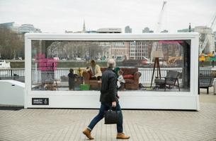 Amnesty International UK Creates a Living Installation on London's South Bank