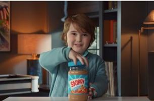 BBDO Minneapolis Enlists Cute-as-Buttons Child Star for New Skippy Peanut Butter Campaign