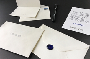 Take Note's New Campaign Reminds Us of the Power of Handwritten Messages
