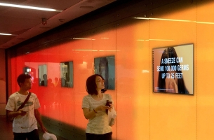 Redoxon's SMRT Campaign Reveals How 100,00 Germs Go Viral in Just 25 Feet