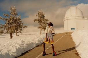 Colin Dodgson Captures Essence of 'Free Style' for British Vogue