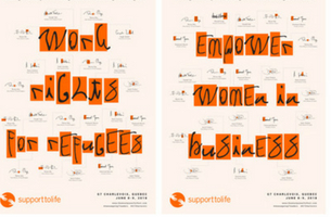 Support To Life Creates Font with the Power to Change the World